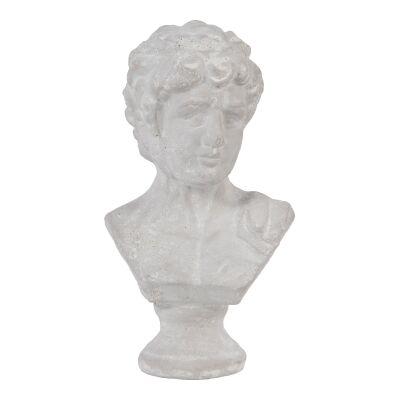 Wystan Ceramic Bust Figurine, Small