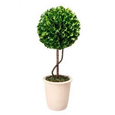 Lix Potted Artificial Ball Topiary
