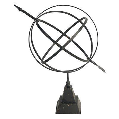 Odella Iron Armillary Sphere Decor