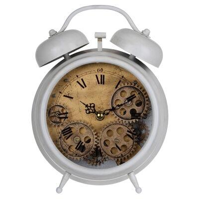Hereford Metal Table Alarm Clock