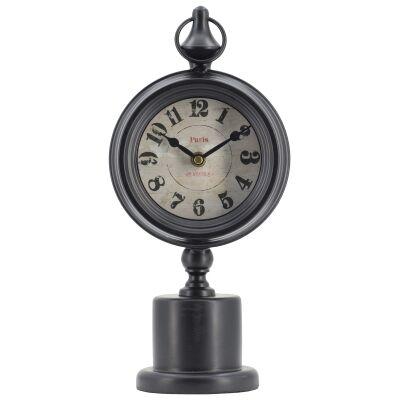 Filibert Metal Pedestal Desk Clock