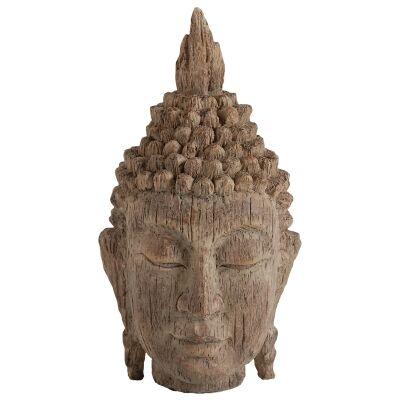 Manjushri Buddha Head Sculpture, Small