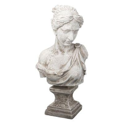 Ian Greek Goddess Bust Sculpture