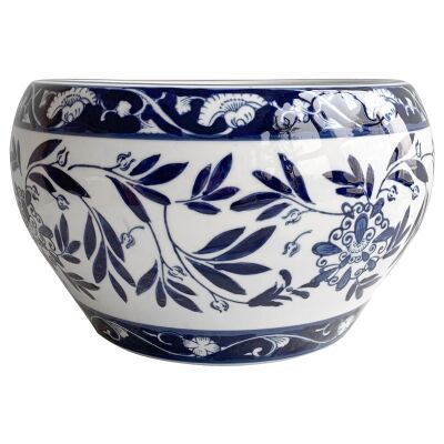 Mito Porcelain Bowl Planter, Large