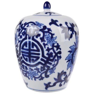 Meera Porcelain Jinger Jar