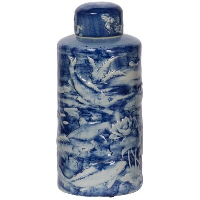 Jinli Porcelain Temple Jar