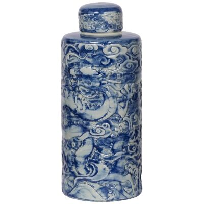Yunlong Porcelain Temple Jar