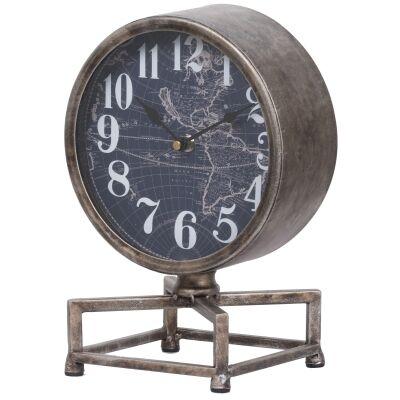 Tilton Iron Table Clock