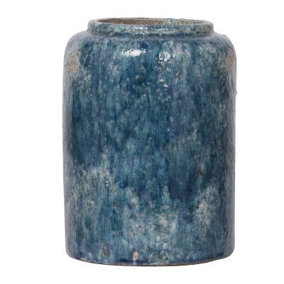 Firth Terracotta Round Vase, Small