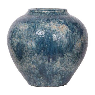Firth Terracotta Pot Vase, Medium