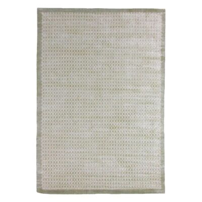 Luxe Hand Loomed Spotted Rug, 160x230cm, Beige