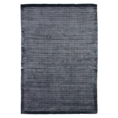 Luxe Hand Loomed Spotted Rug, 250x300cm, Storm