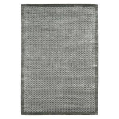 Luxe Hand Loomed Spotted Rug, 250x300cm, Steel