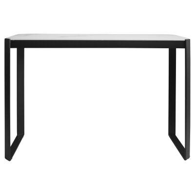 Linda Glass & Metal Console Table, 120cm