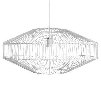 Marlo Metal Wire Pendant Light, White