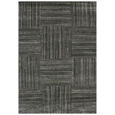 Studio Hassan Turkish Made Modern Rug, 170x120cm, Black