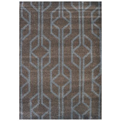 Studio Maxence Turkish Made Modern Rug, 330x240cm, Brown