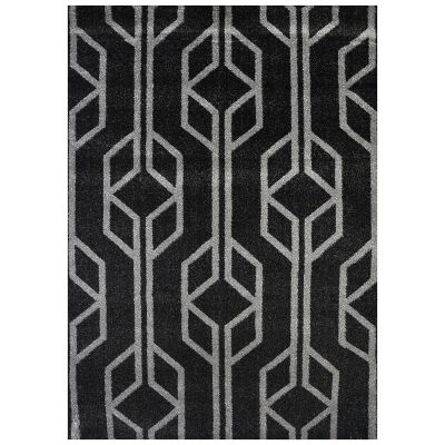 Studio Maxence Turkish Made Modern Rug, 330x240cm, Black