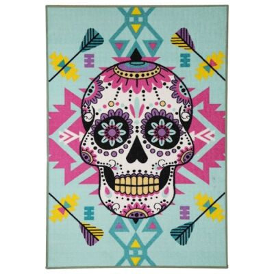 Sphinxs Gilliam Sugar Skull Kid Rug, 150x100cm