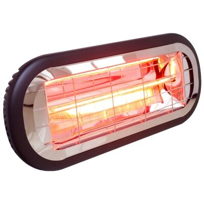 Ventair Sunburst Mini Indoor / Outdoor Compact Infrared Radiant Heater, 1000W