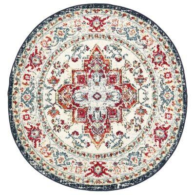 Symphony Elixir Oriental Round Rug, 240cm, Multi