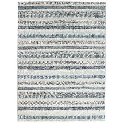 Symphony Scandi Modern Rug, 200x290cm, Blue