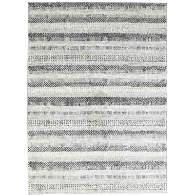 Symphony Scandi Modern Rug, 380x280cm, Grey
