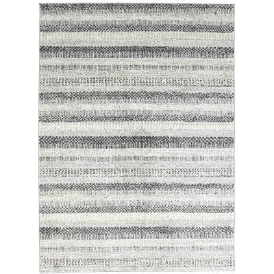 Symphony Scandi Modern Rug, 160x230cm, Grey