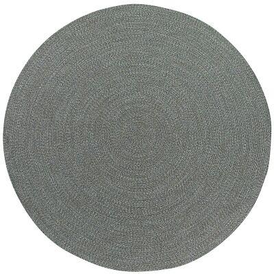 Seasons Stripe Indoor/Outdoor Round Rug, 240cm, Natural / Grey