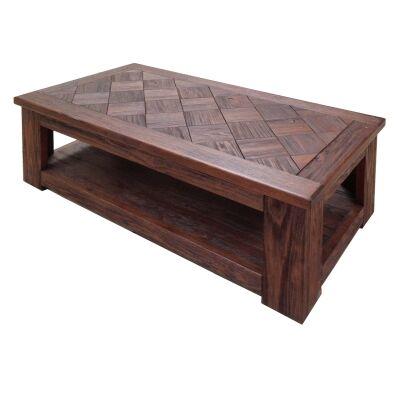 Sefton Mountain Ash Timber Coffee Table, 125cm