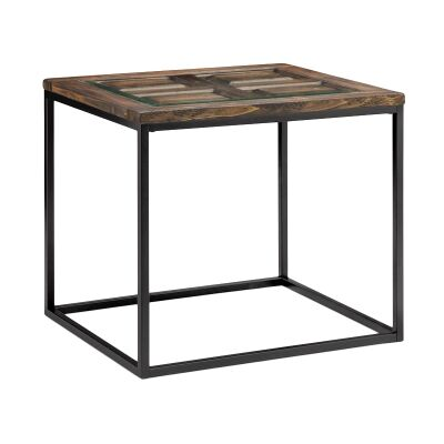 Rochester Timber & Metal Side Table