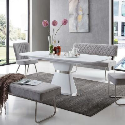Jessica Extendable Dining Table, 160-200cm
