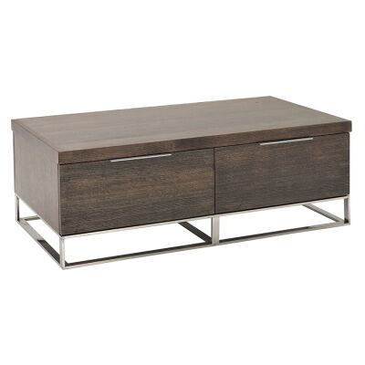 Zoka Victoria Ash Timber Coffee Table, 120cm
