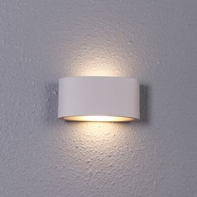 Tama IP54 Exterior Up/Down LED Wall Light, White