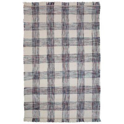 Tartan Traditional Wool Rug, 225x155cm, Multi
