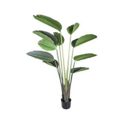Potted Artificial Bird of Paradise Plant, 150cm
