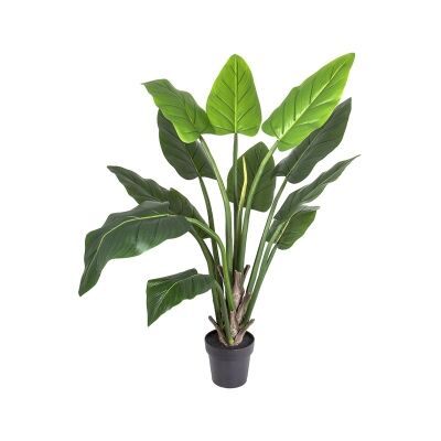 Real Touch Potted Artificial Philodendron Plant, 140cm