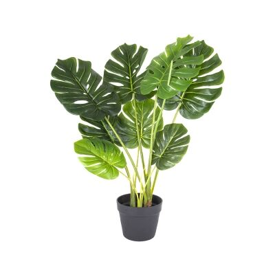 Real Touch Potted Artificial Monstera Deliciosa Plant, 85cm
