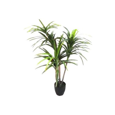 Real Touch Artificial Yucca Tree in Pot, 125cm