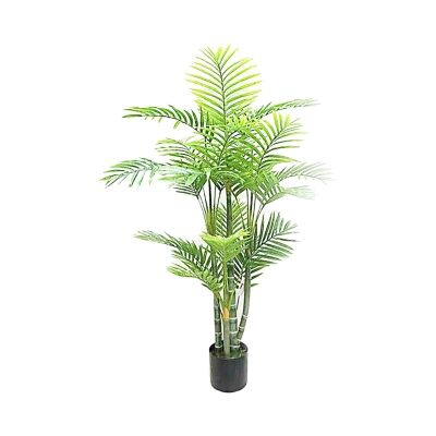 Real Touch Artificial Palm Tree in Pot, 125cm