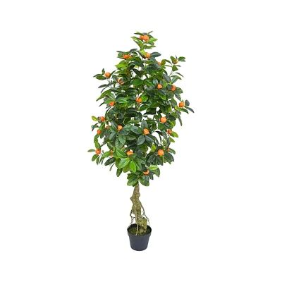 Real Touch Artificial Orange Tree in Pot, 150cm