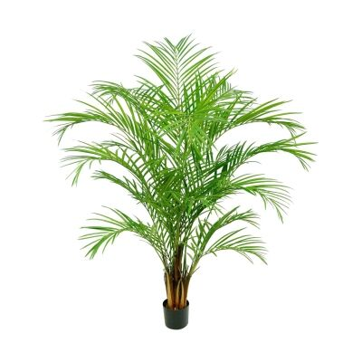 Potted Artificial Areca Palm Tree, 180cm