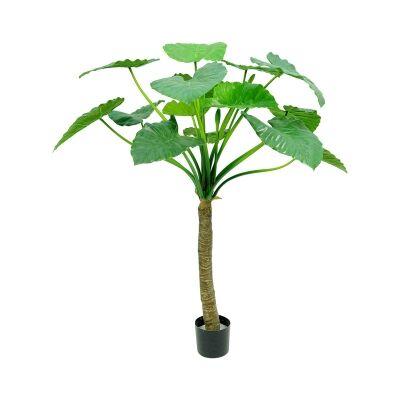 Potted Artificial Alocasia Calidora Tree, 135cm