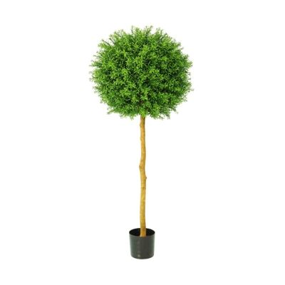 Potted Artificial Rosemary Ball Topiary, 150cm