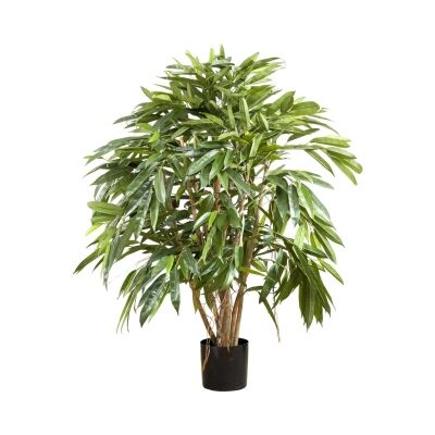 Potted Artificial Royal Longifolia Tree, 90cm