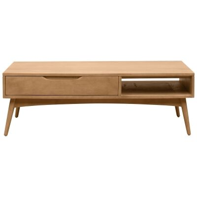 Molton Hand Crafted Mango Wood Coffee Table, 120cm