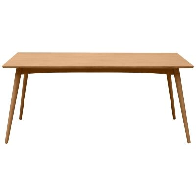 Molton Hand Crafted Mango Wood Dining Table, 180cm