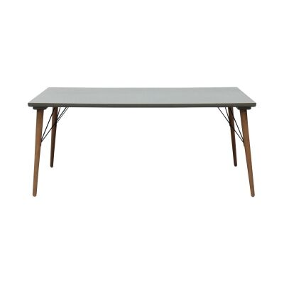 Milton Wooden Dining Table, 180cm