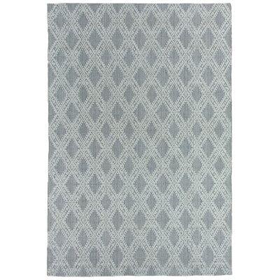 Timeless Elegance Hand Loomed Wool & Viscose Rug, 160x230cm, Grey