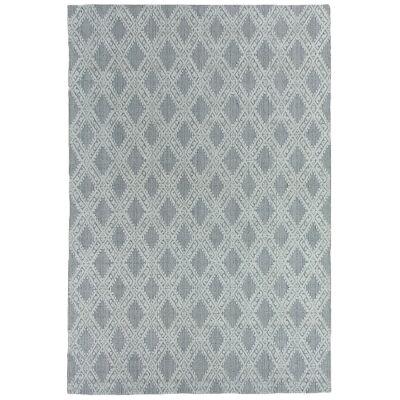 Timeless Elegance Hand Loomed Wool & Viscose Rug, 350x450cm, Natural / Grey